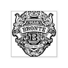 BRONTE black Sticker
