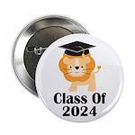 "Class of 2024 Graduate (lion) 2.25"" Button"
