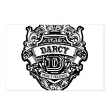 TEAM DARCY Postcards (Package of 8)