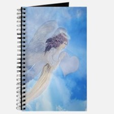 Angel Carrying Love Journal