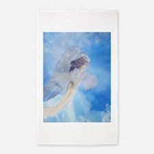 Angel Carrying Love 3'x5' Area Rug