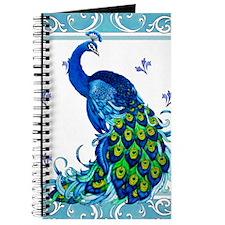 Peacock Swirl Journal