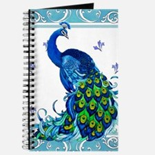 Peacock Swirl Journal