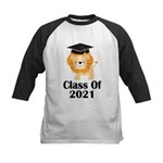 Class of 2021 Graduate (lion) Kids Baseball Jersey