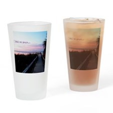 Beach Sunset Drinking Glass