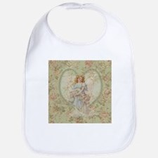 Angel Carrying Roses Bib