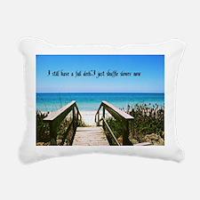 Age Gracefully Rectangular Canvas Pillow