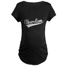 Absurdism, Retro, Maternity T-Shirt