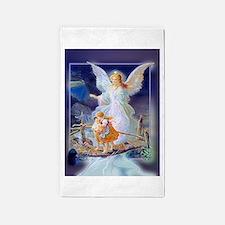 Guardian Angel and Children Crossing Bridge 3'x5'
