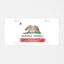 Distressed California Republic State Flag Aluminum
