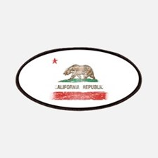 Distressed California Republic State Flag Patches