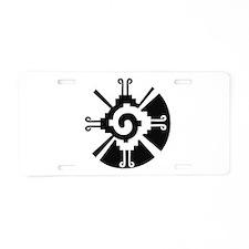 Cool Ku Aluminum License Plate