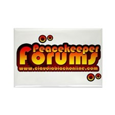 Funny Claudia Rectangle Magnet (10 pack)