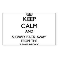 Keep calm and slowly back away from Abarimons Stic