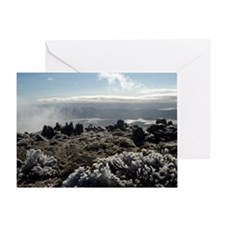 mount wellington view Greeting Card