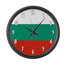 Flag of Bulgaria Large Wall Clock