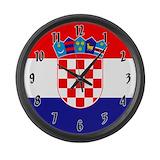 Croatian clock Wall Clocks