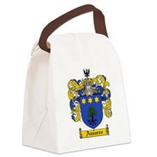 Azzurro coat of arms / family cre Canvas Lunch Bag