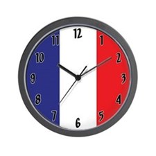 Flag Of France Wall Clock