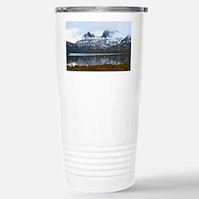 winter at cradle mounta Stainless Steel Travel Mug