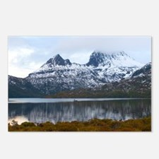 winter at cradle mountain Postcards (Package of 8)