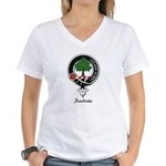 Andrew.jpg Women's V-Neck T-Shirt