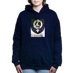 Armstrong Clan Crest Tartan Women's Hooded Sweatsh