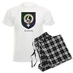 Armstrong Clan Crest Tartan Men's Light Pajamas