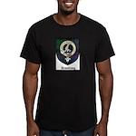 Armstrong Clan Crest Tartan Men's Fitted T-Shirt (
