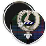 Armstrong Clan Crest Tartan Magnet