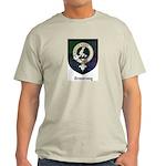 Armstrong Clan Crest Tartan Light T-Shirt