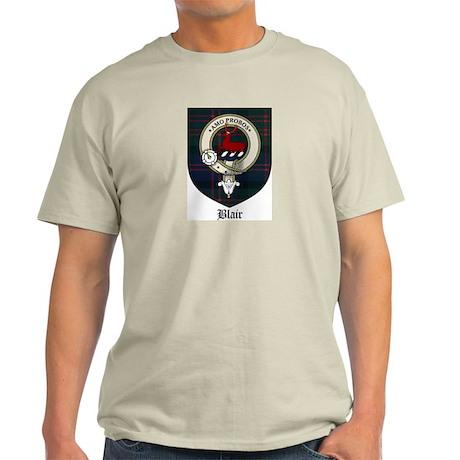 Blair Clan Crest Tartan Light T-Shirt