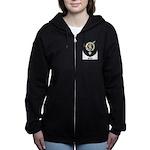 Blyth Clan Badge Tartan Women's Zip Hoodie
