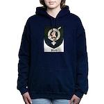 Blyth Clan Badge Tartan Women's Hooded Sweatshirt