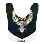 Blyth Clan Badge Tartan Bib