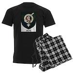 Blyth Clan Badge Tartan Men's Dark Pajamas