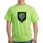 Blyth Clan Badge Tartan Green T-Shirt