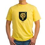 Blyth Clan Badge Tartan Yellow T-Shirt