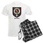 Borthwick Clan Crest Tartan Men's Light Pajamas