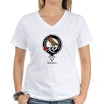 Boswell.jpg Women's V-Neck T-Shirt