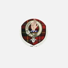 Boyd Clan Crest Tartan Mini Button
