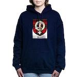Brodie Clan Crest Tartan Women's Hooded Sweatshirt