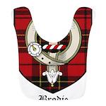 Brodie Clan Crest Tartan Bib