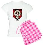 Brodie Clan Crest Tartan Women's Light Pajamas