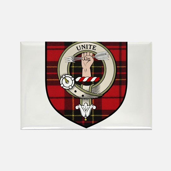 Brodie Clan Crest Tartan Rectangle Magnet