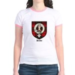 Brodie Clan Crest Tartan Jr. Ringer T-Shirt