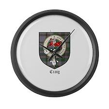 CraigCBT.jpg Large Wall Clock