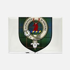 Davidson Clan Crest Tartan Rectangle Magnet