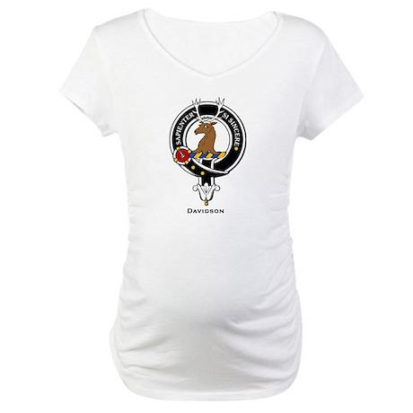 Davidson.jpg Maternity T-Shirt