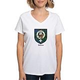 Duncan clan Womens V-Neck T-shirts